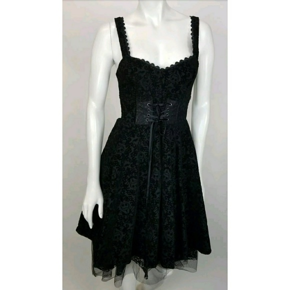 1acd02a40eb Hot Topic Dresses   Skirts - Nightmare Before Christmas Dress Hot Topic  Corset